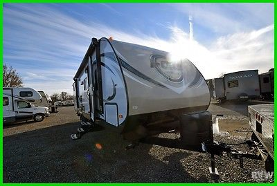 New 16 I-GO 314BDS Rv Wholesalers Towable Travel Trailer Outside Kitchen Bunks