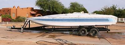 24 skater copy hull deck and very nice trailer