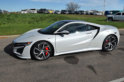 2017 Acura NSX NSX 2017 Acura NSX  Casino White w/Orchid NEW $180,600 MSRP Lease 36mo $2,125mo