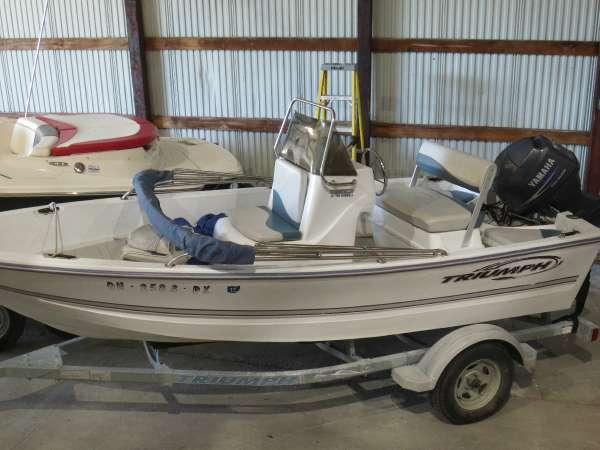 triumph boats 150 boats for sale rh smartmarineguide com Triumph 190 Bay Review 17' Triumph Boat