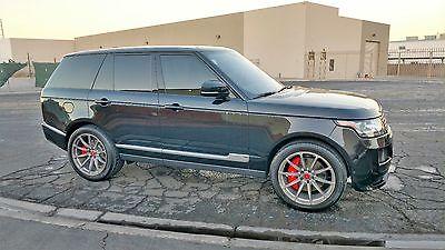 2015 Land Rover Range Rover Vorsteiner Range Rover Vorsteiner supercharged Very Rare Great Price