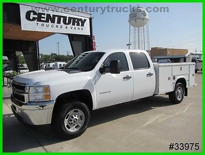 2011 Chevrolet Silverado 2500 6.0 V8 Chevy  3/4 Ton Crew Cab Utility Work Truck 2011 CREW CAB 2500 8' KNAPHEIDE SERVICE BODY BED FLIP TOP LIDS WE FINANCE!