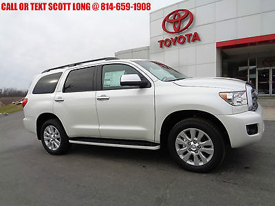 2017 Toyota Sequoia New 2017 Sequoia Platinum SUV V-8 JBL Sunroof Heat New 2017 Sequoia Platinum SUV V-8 JBL Sunroof Heated Leather Seats Nav 3rd Row