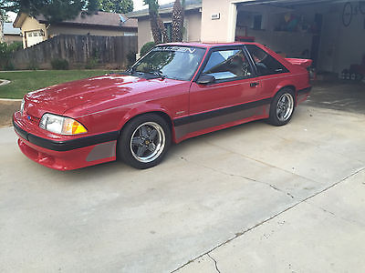 1989 Ford Mustang  1989 Ford Saleen Mustang 302