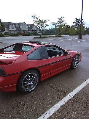 1986 Pontiac Fiero Gt fastback 1986 pontiac fiero gt