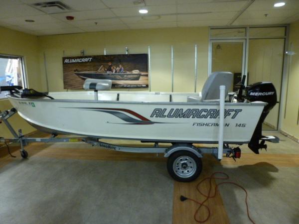 2010 Alumacraft Fisherman 150