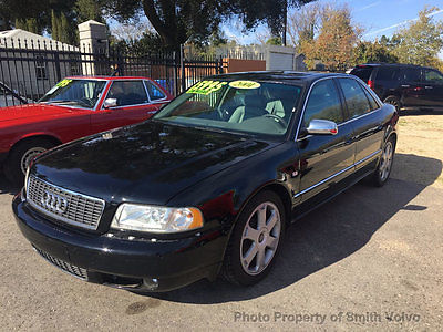 2001 Audi S8 4dr Sedan Quattro AWD Automatic 2001 Audi S8 Fresh $7000 service by Audi Timing Belt and Water Pump!