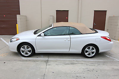 2006 Toyota Solara SLE 2006 TOYOTA CAMRY SOLARA SLE V6 CONVERTIBLE, ONE OWNER, CREAM PUFF, EXCELLENT!