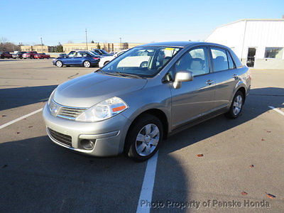 2009 Nissan Versa 4dr Sedan I4 Automatic 1.8 S 4dr Sedan I4 Automatic 1.8 S Automatic Gasoline 1.8L 4 Cyl GRAY
