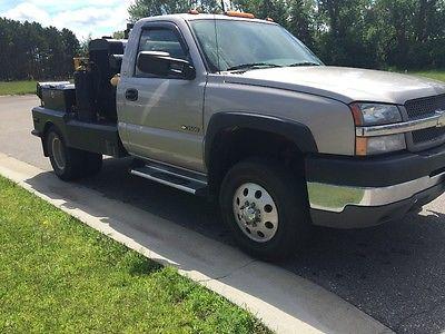 2004 Chevrolet Silverado 3500  welding rig