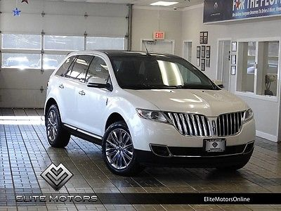 2013 Lincoln MKX Base Sport Utility 4-Door 13 lincoln mkx awd navi gps touch screen heated cooled pano roof bluetooth