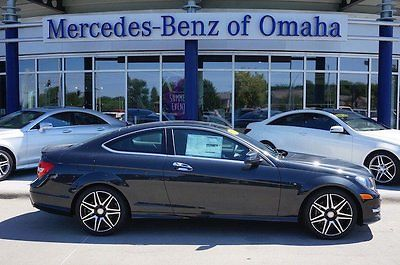 2015 Mercedes-Benz C-Class 4Matic Coupe 2-Door 2015 Coupe New AWD, 4matic, Demo vehicle, C350, mercedes-benz