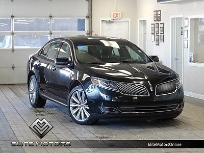 2013 Lincoln MKS EcoBoost Sedan 4-Door 13 lincoln mks ecoboost awd automatic touch screen navi gps back up cam pano