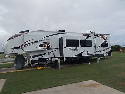 2012 XLR Thunderbolt toy hauler fifth wheel