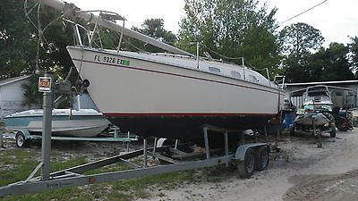 Sail boat 26' Chrysler and trailer