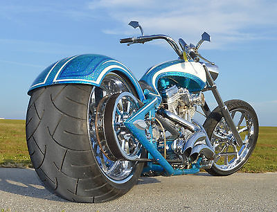 2006 Custom Built Motorcycles Chopper  2006 COAST TO COAST VIOLATOR PRO STREET CHOPPER 300mm Rear Tire Patrick Racing