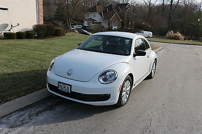 2016 Volkswagen Beetle-New 1.8T S 2016 White Beetle 1.8T S, Low Odometer (3100), Excellent Condition