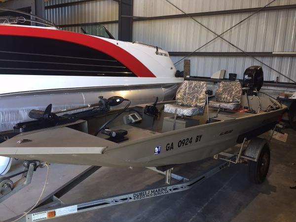 2008 Alumacraft MV 1546 AW DD Tunnel