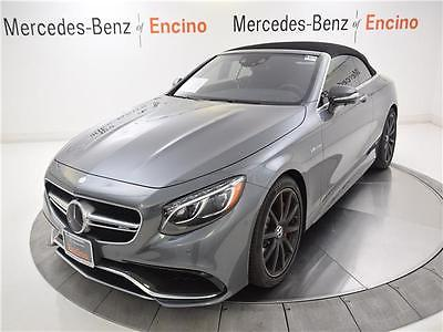 2017 Mercedes-Benz S-Class AMG S63 2017 Mercedes-Benz S63 AMG, 424 Miles, CERTIFIED, DESIGNO, BURMESTER, $205,465!