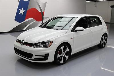 2015 Volkswagen Golf  2015 VOLKSWAGEN GTI STURBO  AUTO HEATED SEATS 24K MILES #036708 Texas Direct