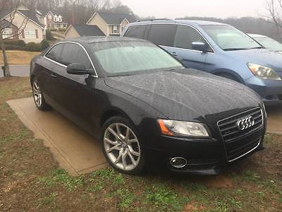 2011 Audi A5 Luxury Coupe 2-Door 2011 Audi A5 2.0T Quattro Premium Coupe 2D 4 cycle 2.0 Liter Tinted Windows