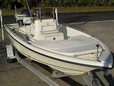 2006 KEY WEST 196 BAY REEF CC BAY BOAT YAMAHA 150HP 4-STROKE   PRO BULLS SEA 216