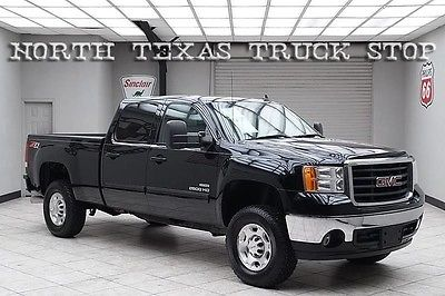 2010 GMC Sierra 2500 SLT Crew Cab Pickup 4-Door 2010 sierra 2500 hd diesel 4 x 4 slt heated leather 1 texas owner