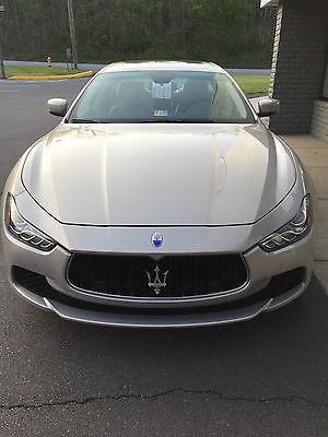 2014 Maserati Ghibli S Q4 Sedan 4-Door 2014 Maserati Ghibli S Q4 Sedan 4-Door 3.0L