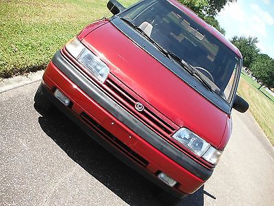 1994 Mazda MPV LX Low Mile MPV LX.  LOW BIN  Not a Toyota or Nissan.  Rear Drive Runs Great!! CLEA
