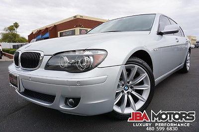 2008 BMW 7 Series 08 750Li 750 Li Sedan Silver