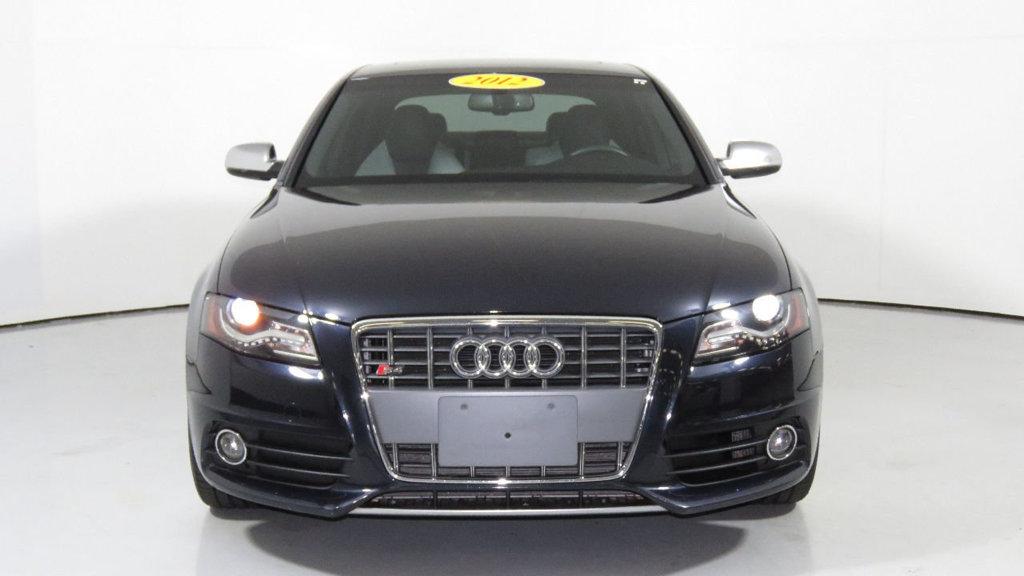 2012 Audi S4 4dr Sedan S Tronic Prestige 2012 audi s 4 premium plus heated bi color seats b o sound system one owner