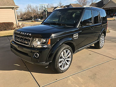 2014 Land Rover LR4 HSE Lux Sport Utility 4-Door 2014 Land Rover LR4 XXV Anniversary Edition Supercharged w/Extras only 18k miles