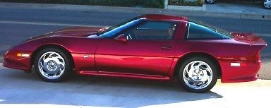 1990 Chevrolet Corvette ZR-1 1990 ZR-1 Rick Mears Special Edition Shinoda-Williams ZR-1 #1