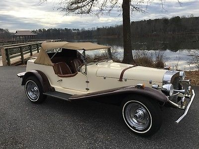 1929 Mercedes-Benz Other 1929 mercedes gazelle kit original with 7k miles Beautiful Classic Ford Powererd