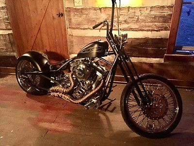 2012 Custom Built Motorcycles Bobber  127