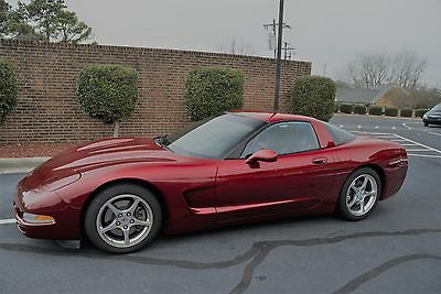 2000 Chevrolet Corvette Base 2-Door 2000 Corvette  Excellent condition  Magnetic Red  Stock  Garaged Matching #s