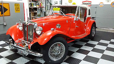 1969 MG Other 1969 VW MG TD ROADSTER REPLICA