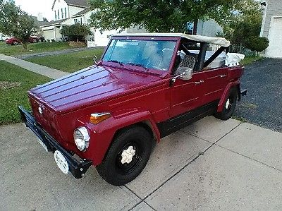 1974 Volkswagen Thing Slightly Modified With Many Factory Options 1974 Volkswagen Thing Base 1.6L