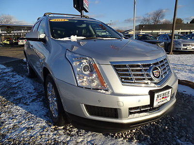 2014 Cadillac SRX Luxury Collection 2014 CADILLAC SRX Luxury Collection 53840 Miles Silver SUV V-6 cyl 6-Speed Autom