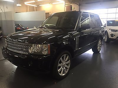 2008 Land Rover Range Rover Supercharged 2008 Land Rover Range Rover Supercharged