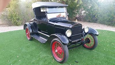 1926 Ford Model T Convertible 1926 FORD MODEL-T *** SHOW-ROOM KEPT *** CONVERTIBLE