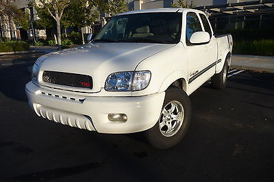 2001 Toyota Tundra SR5 Extended Cab Pickup 4-Door 2001 Toyota Tundra Ivan Stewart Signature Ed. Ext Cab TRD Supercharger 4.7L