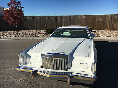 1979 Lincoln Mark Series collectors series Lincoln mark v collectors series 1979