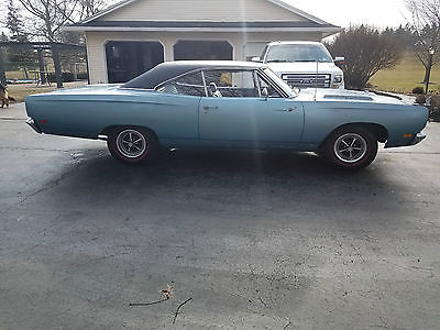 1969 Plymouth Road Runner Base urvivor 90 percent original paint