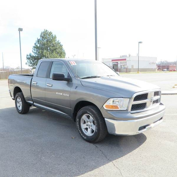 2011 RAM Ram Pickup 1500 SLT 4x4 4dr Quad Cab 6.3 ft. SB Pickup