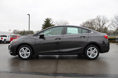 2017 Chevrolet Cruze 17 CHEVROLET CRUZE 4DR SDN LT 17 CHEVROLET CRUZE 4DR SDN LT New Sedan Automatic Gasoline 1.4L 4 Cyl Tungsten M
