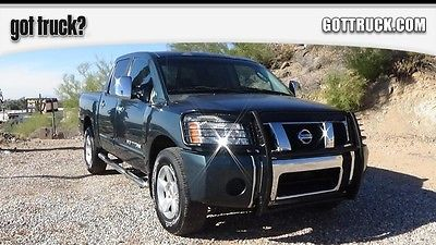 2005 Nissan Other Pickups SE -- 4x4 -- crew - low miles GREEN Nissan Titan 4X4 with 83,214 Miles available now!