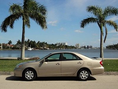 2003 Toyota Camry  2003 TOYOTA CAMRY LE 1OWN ACCIDENT FREE FLORIDA NON SMOKER LOW 57K MILE NO HONDA