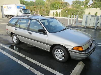 1991 Ford Escort  1991 Ford Escort Wagon