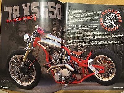 1978 Yamaha XS  Custom Yamaha XS650 Motorcycle! Rat Rod Bobber Chopper XS 650! Harley Rims! WOW!
